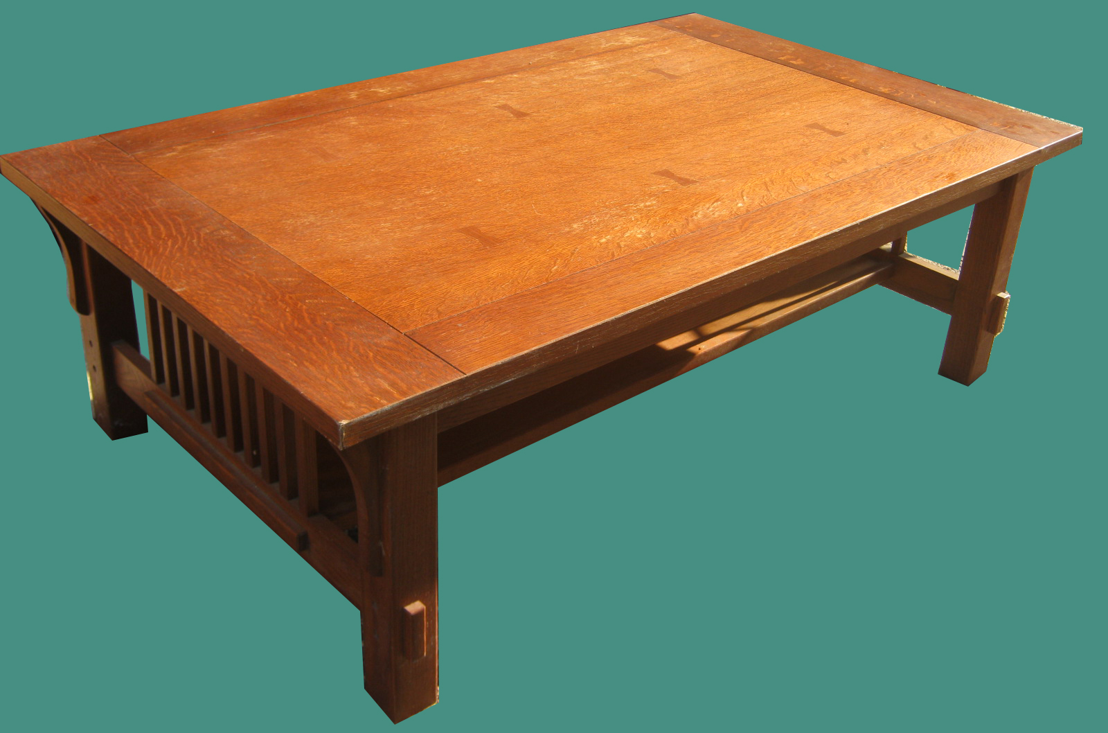 Uhuru Furniture Collectibles Mission Style Coffee Table Sold