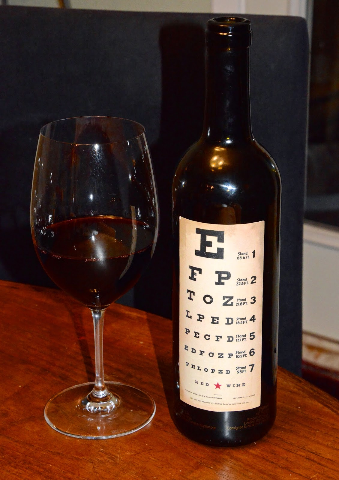 2001 bottles a wine odyssey an eye cathcing red nv eye chart wines red wine blend california geenschuldenfo Gallery