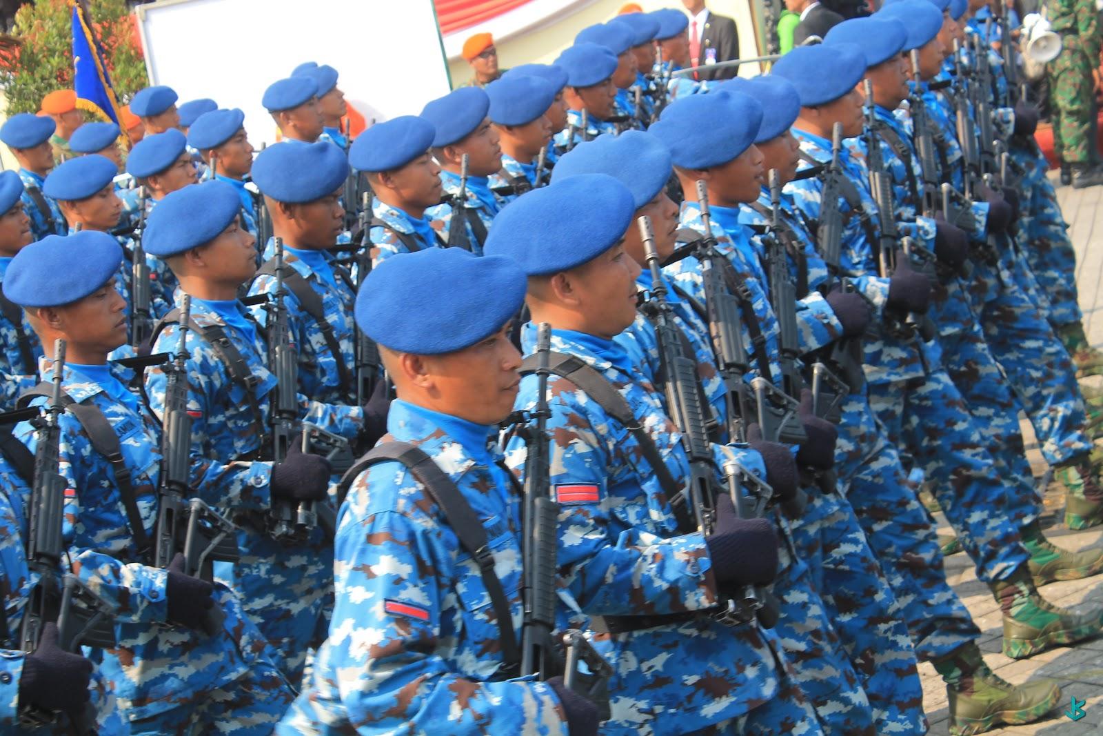 Peringatan Hari Ulang Tahun TNI yang ke-70 di Banten