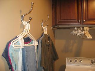 Laundry Room Wall Hooks