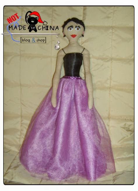 oryginalna lalka na prezent