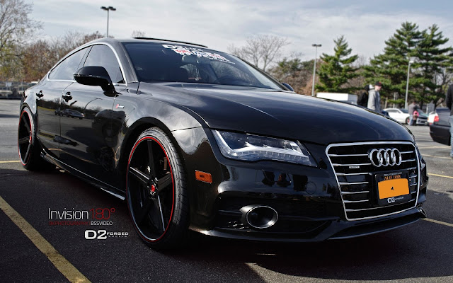 Audi Black A7 Invision 180
