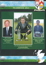 2013 AYRSHIRE GOLF ASSOCIATION YEARBOOK