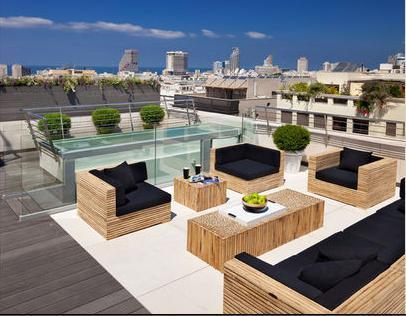Fotos de terrazas terrazas y jardines terrazas bonitas de casas peque as - Terrazas bonitas ...