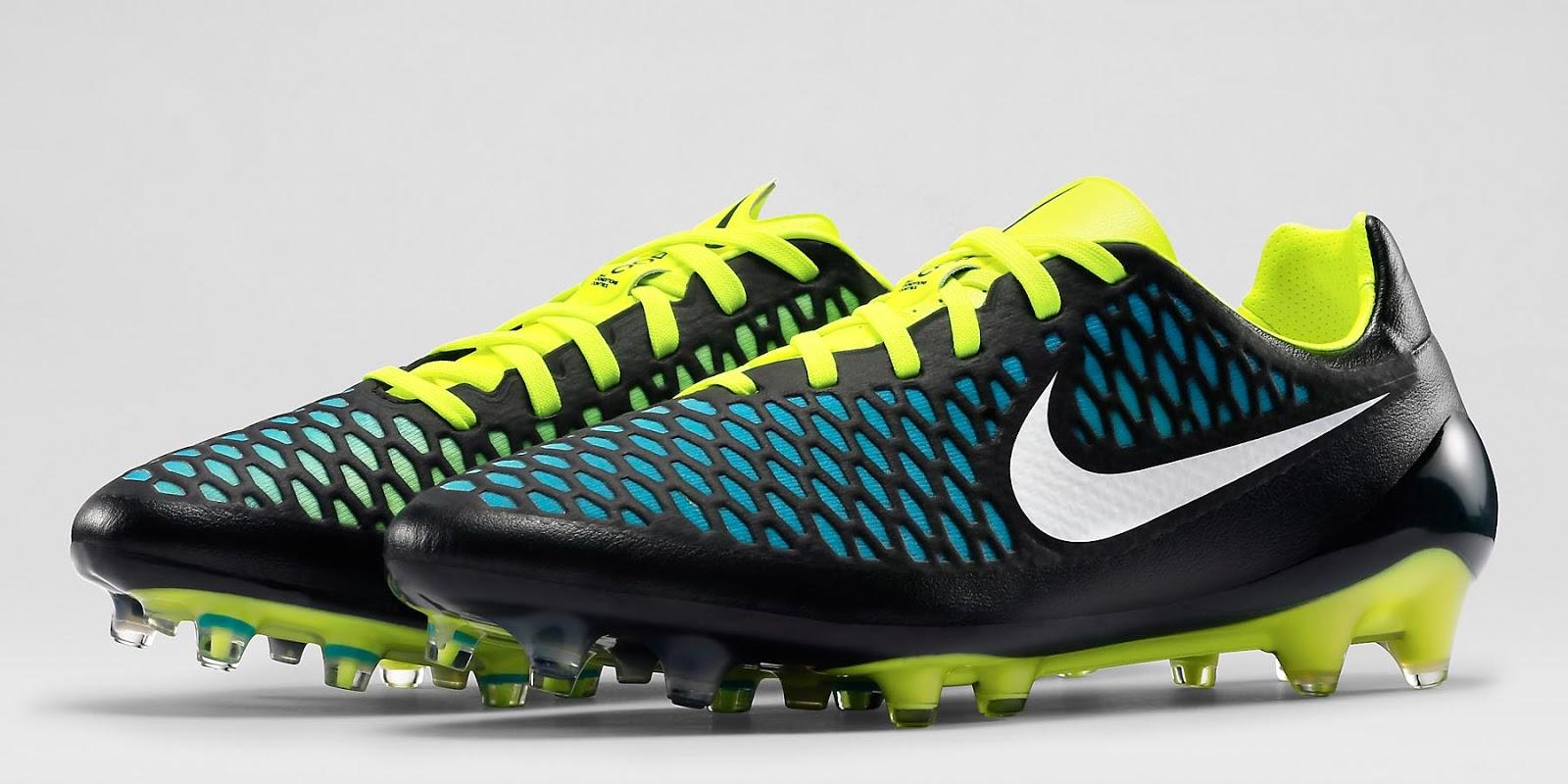 Nike magista opus 2015 boots revealed black blue volt footy headlines