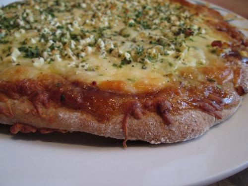 Pizzateig mit Grieß   WaWü Kulinarische Quälereien