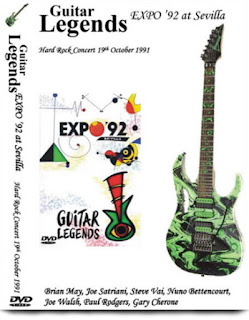 Portada Guitar Legends Expo 92