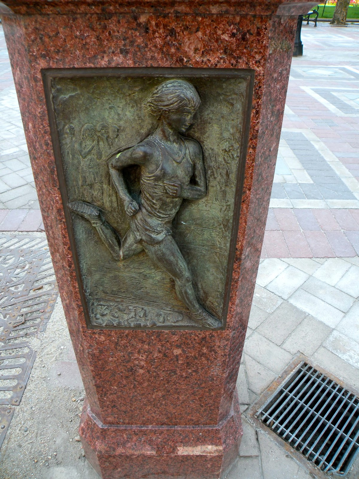 Bobby Gibb Boston Marathon Monument