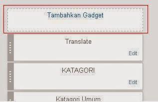 Cara Menambah Widget Translate