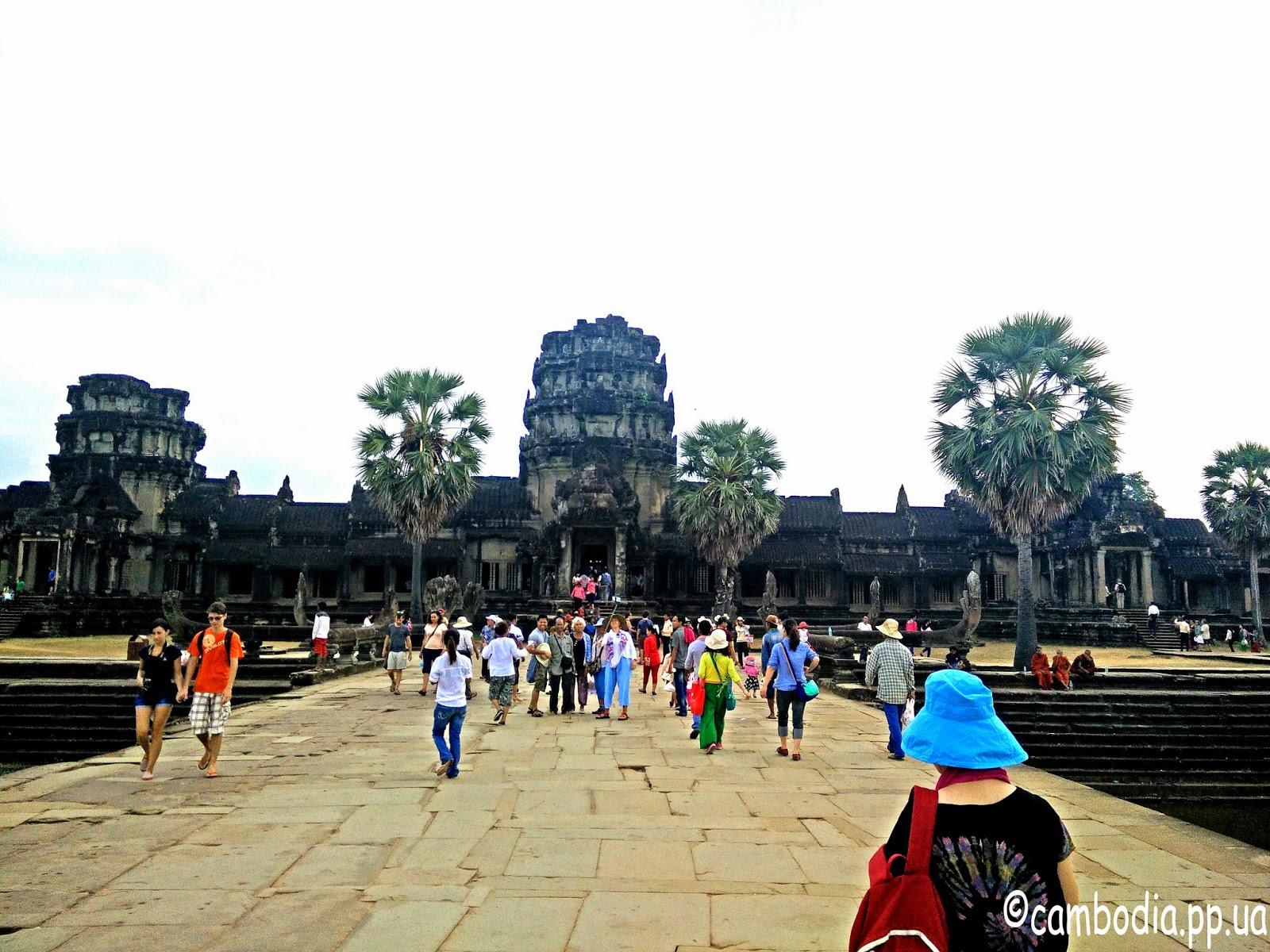 Анкор Ват в Камбодже фото
