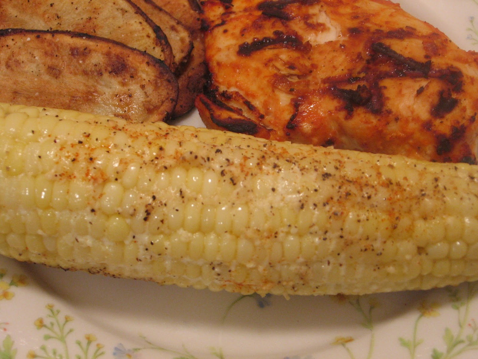 Grilled Parmesan Corn on the Cob