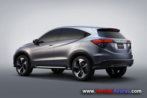 Honda Urban SUV Concept 02 Profile Rear