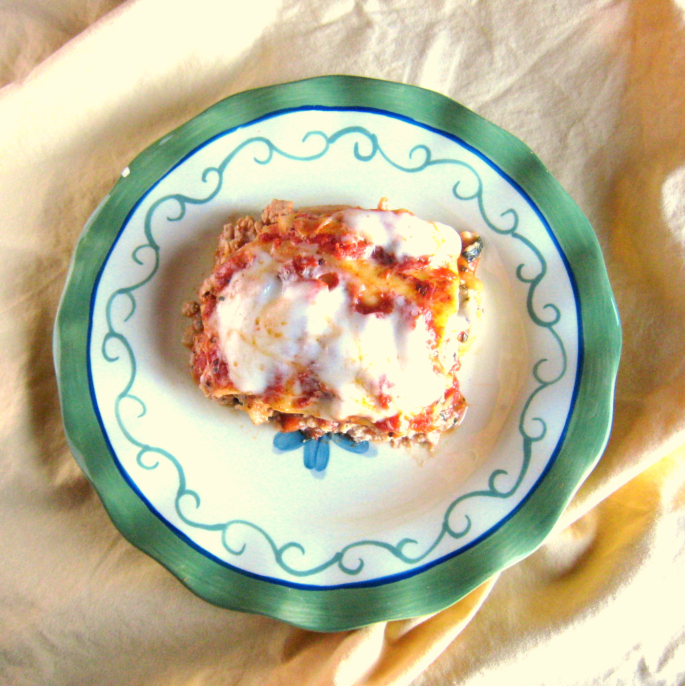Common Sense Cooking: Slow-Cooker Turkey and Vegetable Lasagna