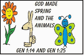 "Spring Lesson ""God Made Spring & The Animals"""