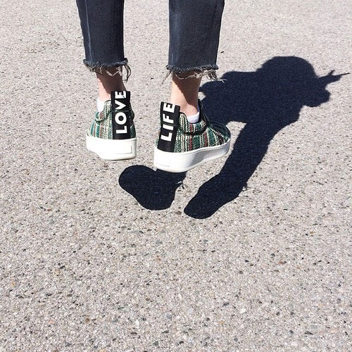 love life sneakers