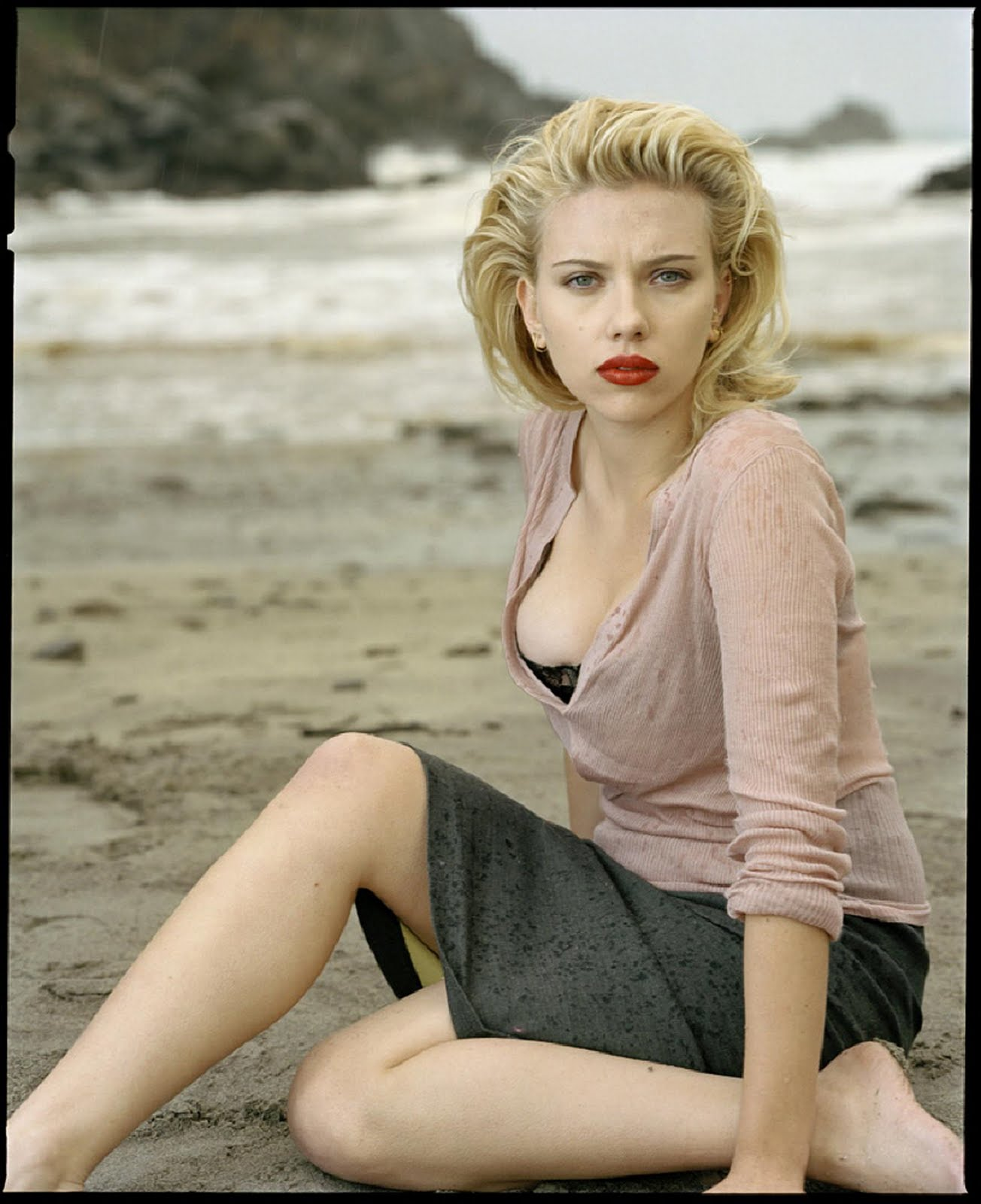 The Man Cave Scarlett Johansson