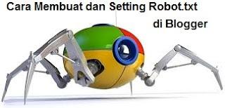 cara membuat dan setting robots.txt di blogger