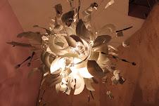 Re-purposed light. Love it!