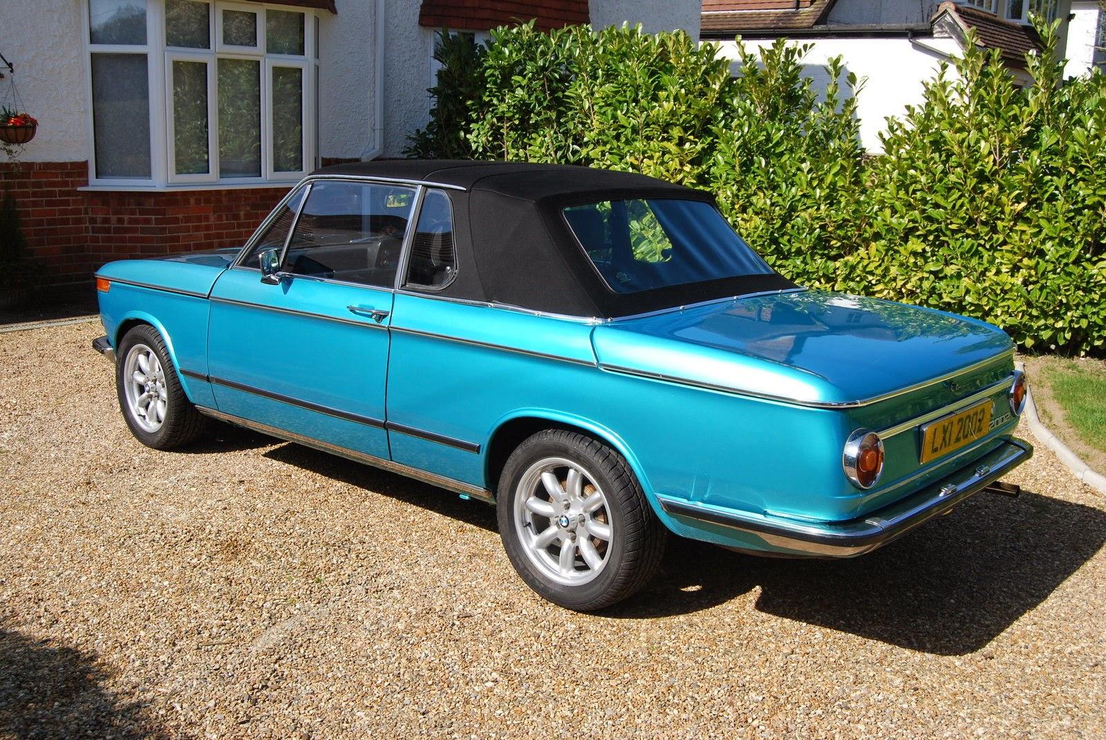 Baurspotting: 1973 BMW 2002 BAUR CABRIO Targa on UK eBay!