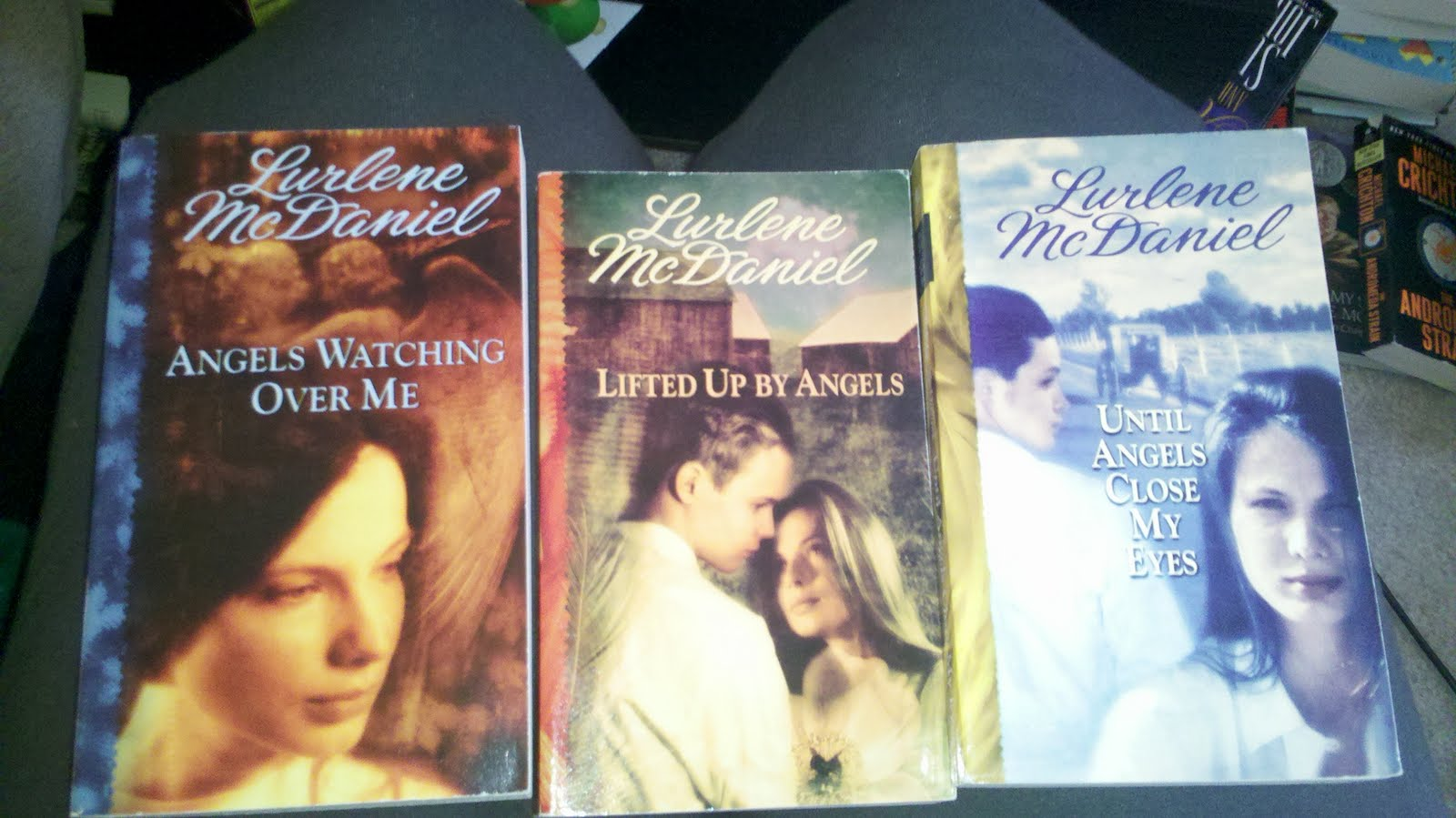 Lurlene Mcdaniel lot of 5 one last wish  paperbacks