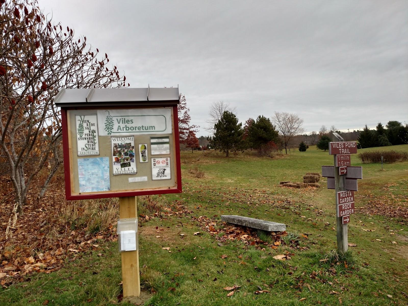 The Viles Arboretum Trail Run and The Treadmill - RunLog 11-12-15 ...