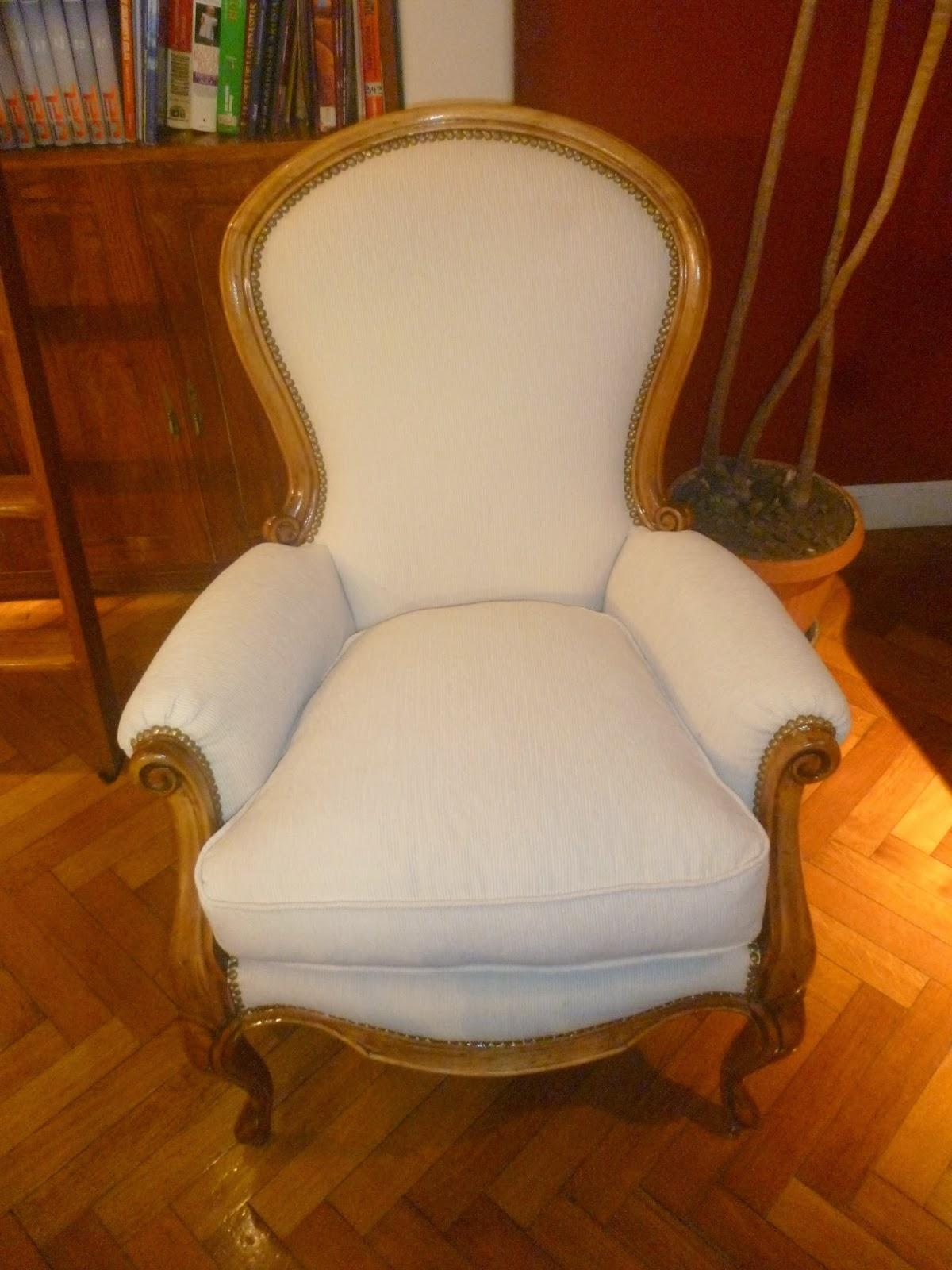 El motivo antig edades restauraci n de sillones de estilo for Sillones clasicos ingleses