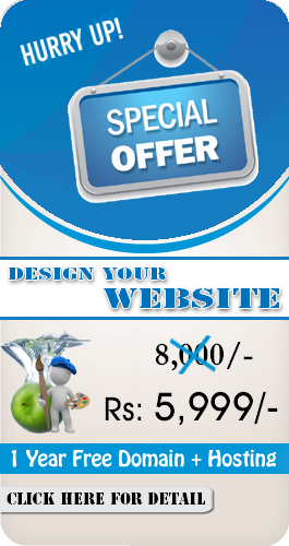 Web Designing Speciall Offer