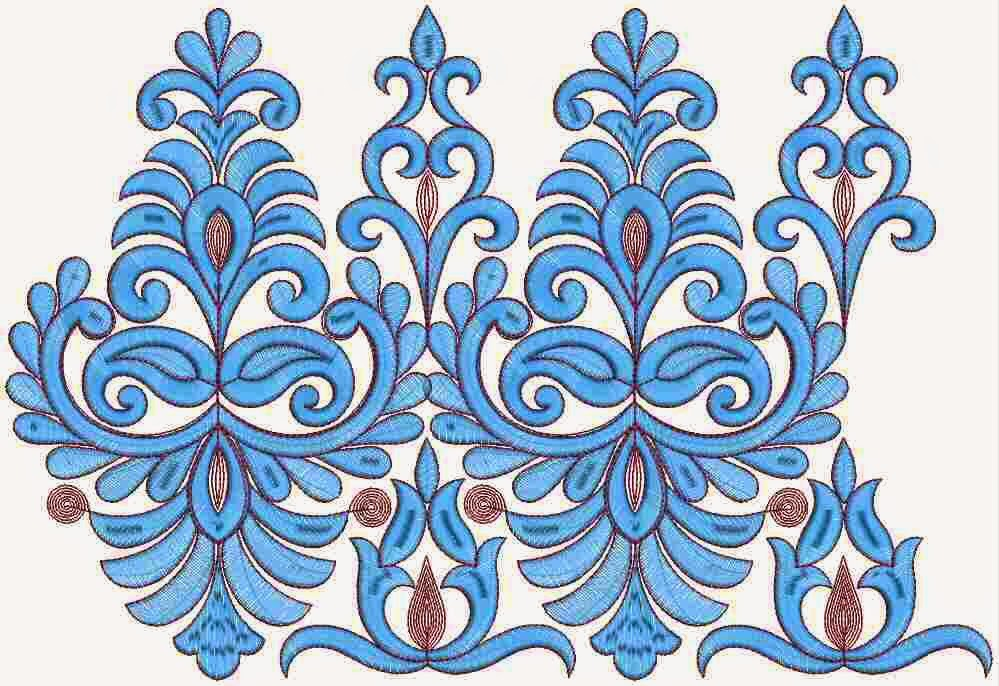Embdesigntube Gorgeous Cording Embroidery Lace Designs