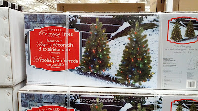 Decorate your house with LED Spruce Pathway Trees