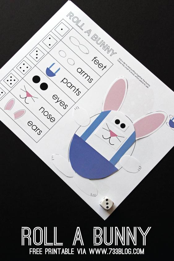 http://733blog.com/2015/03/roll-a-bunny-printable-game/