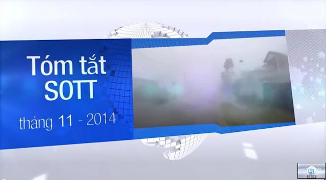 Tóm tắt SOTT tháng 11 năm 2014