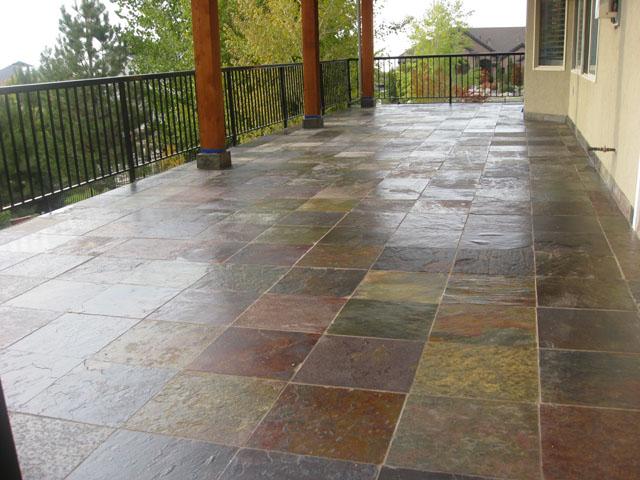 The duradek way duradek expert shares exterior tile deck for Exterior floor tiles design