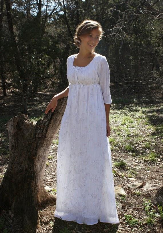 Regency Dress - Affordable Wedding Dresses: Regency