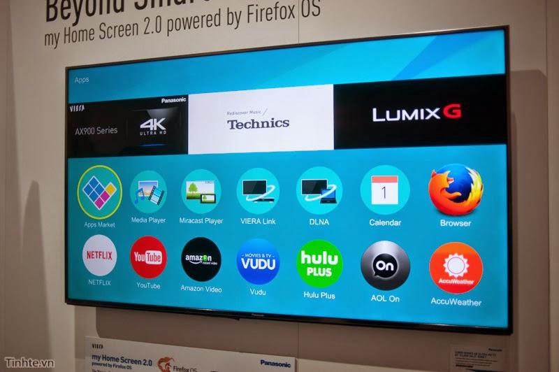 Giới thiệu Firefox OS trên TV 4k của Panasonic | Ces 2015