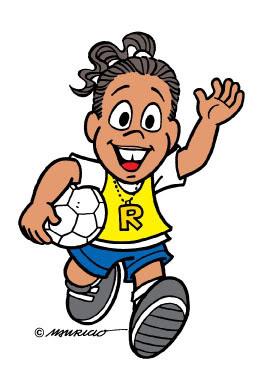 Desenho do Ronaldinho Gaúcho colorido