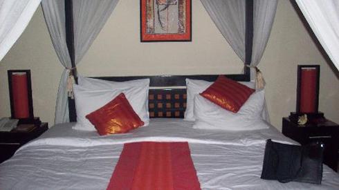The Ulin Villa & Spa Bedroom