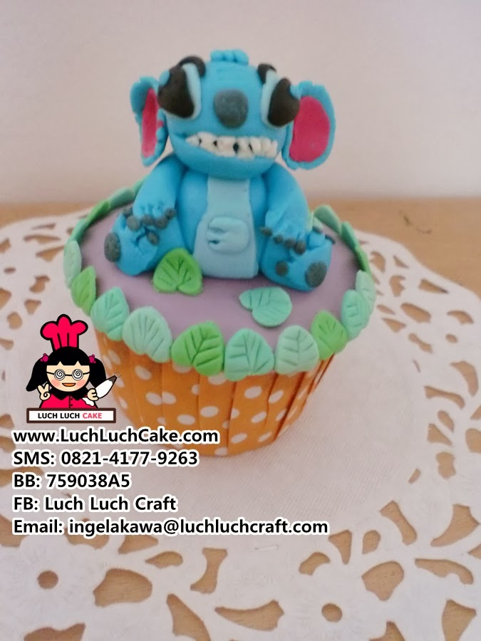 Cupcake Lilo and Stich