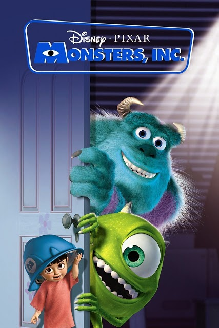 Monsters, Inc (2001) Disney Movie