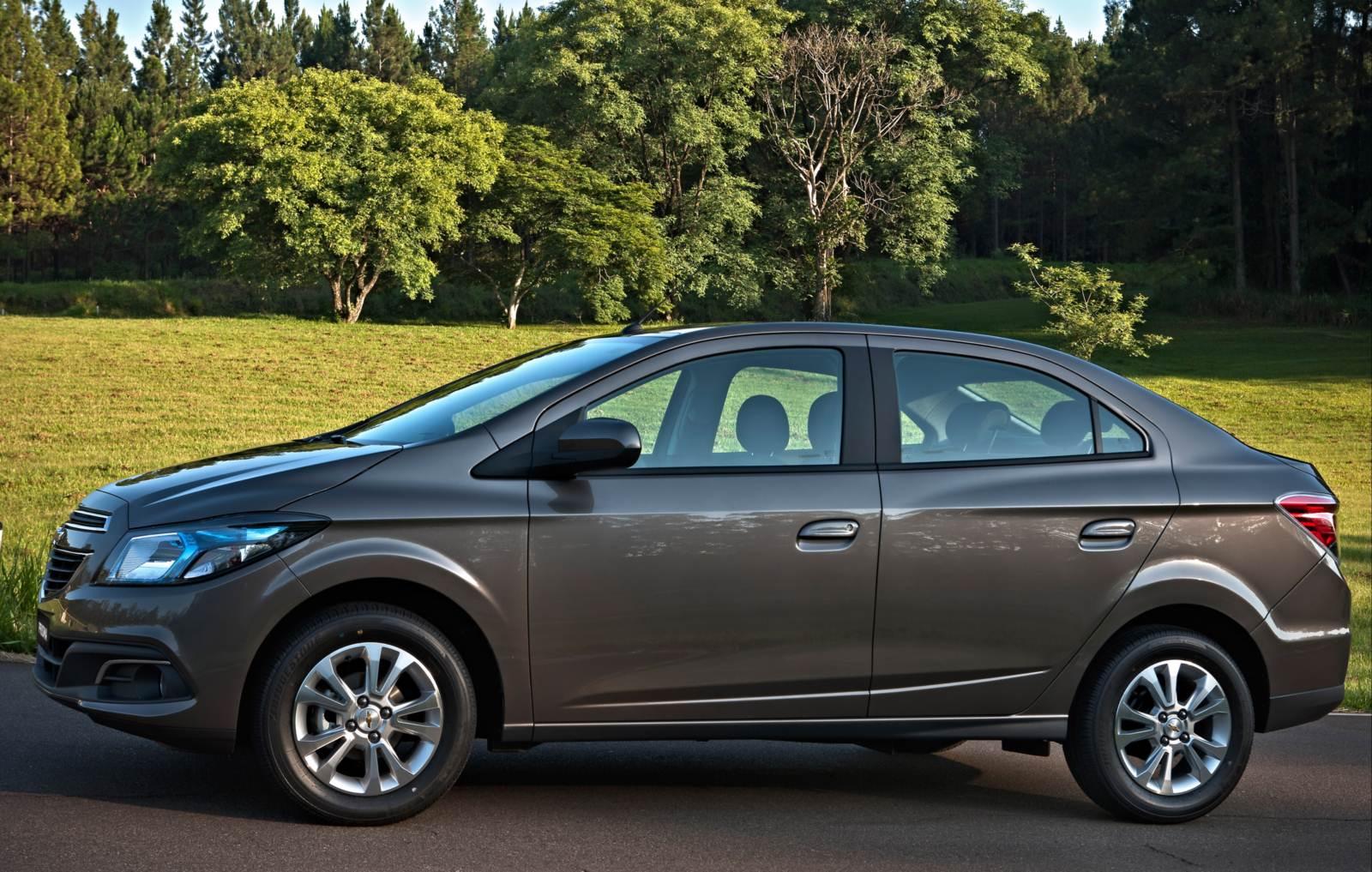 Chevrolet Prisma - sedã compacto mais vendido do Brasil