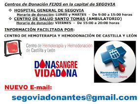 Centros de donacion
