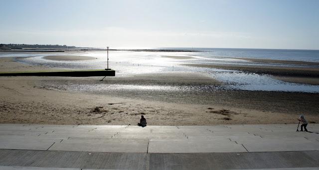 Margate beach - low tide