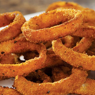 My Favorite Things: Low Fat Baked Onion Rings