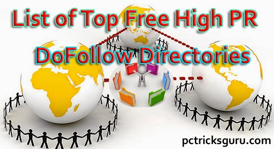 Top Free High PR DoFollow Directories For Site Submission