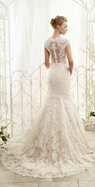 Love the back - ADK by Eddy K 2015 Bridal Collection