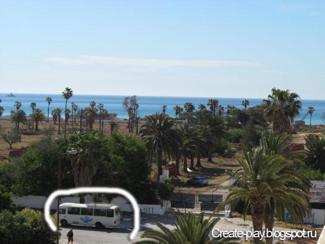остановка автобусов Тунис