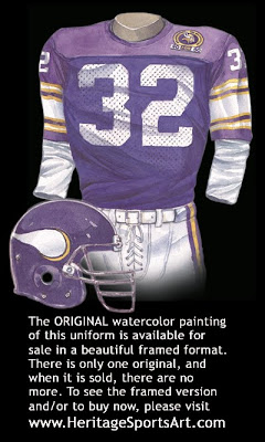 Minnesota Vikings 1989 uniform