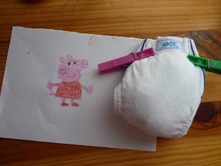 base del dibujo original de peppa pig