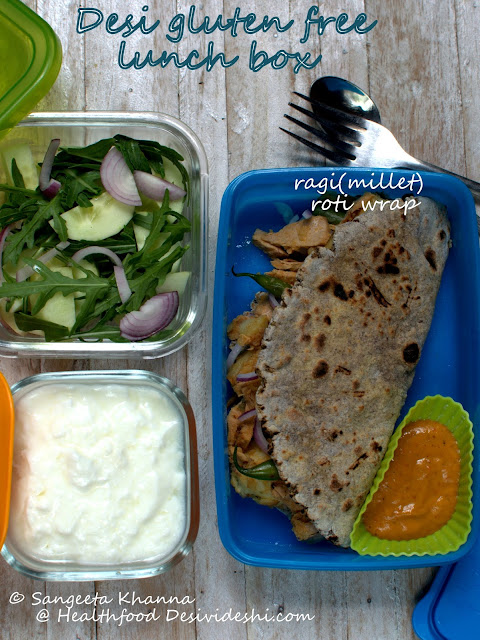 roti wrap lunch box