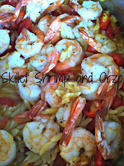 Skillet Shrimp and Orzo | Tasty Tuesday #Recipe Swap - The ...