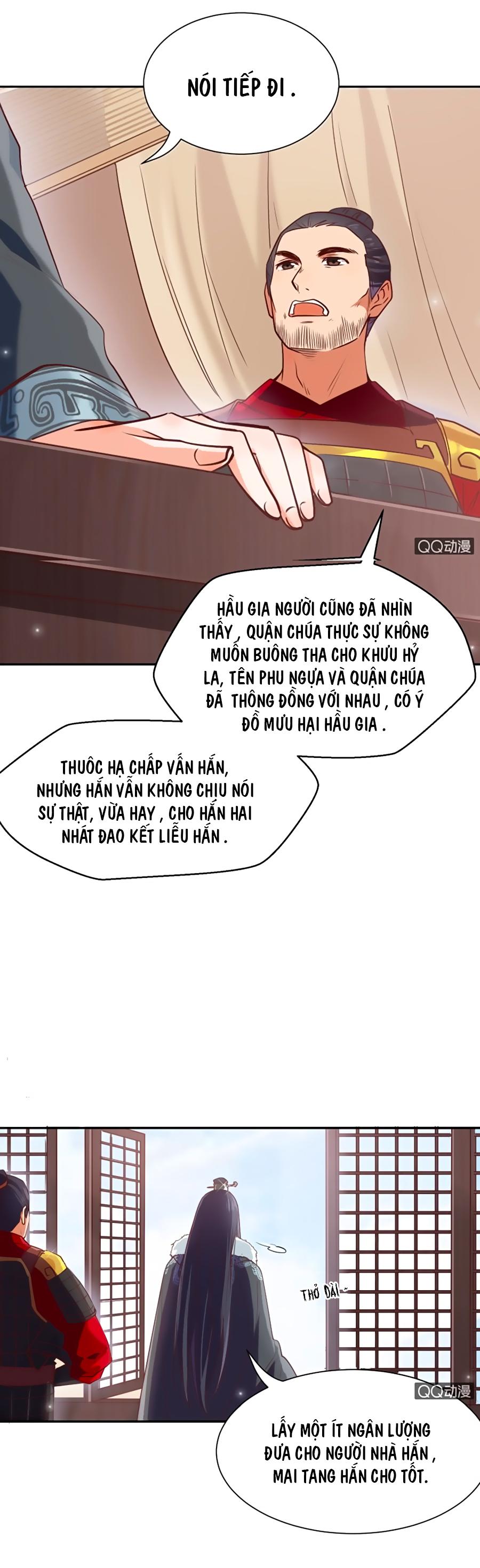 Phượng Khởi Hoa Tàng chap 6 - Trang 2